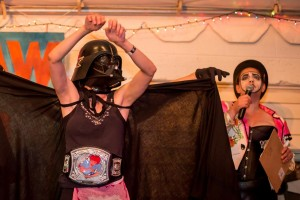 The Champion and All Around Scary Individual, Darth Mater!